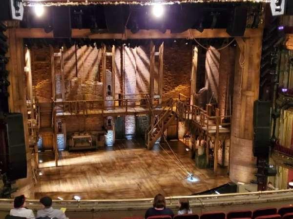 CIBC Theatre, section: Mezzanine LC, row: K, seat: 317-321