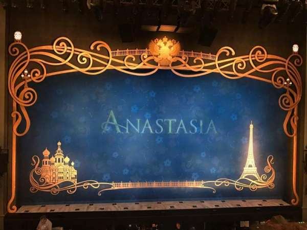 Broadhurst Theatre, section: Mezzanine C, row: B, seat: 104