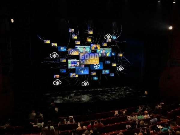 August Wilson Theatre, section: Mezzanine L, row: D, seat: 1
