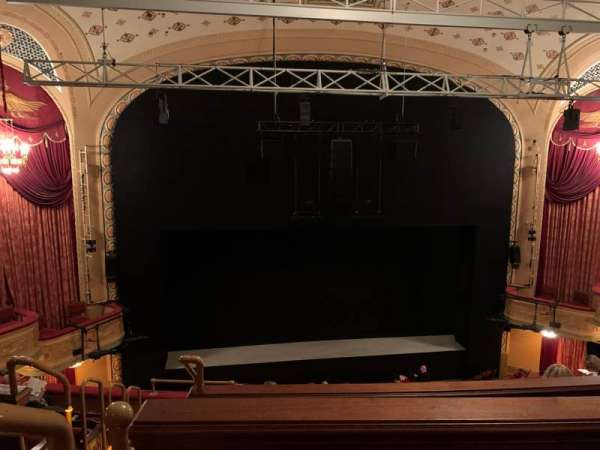 Bernard B. Jacobs Theatre, section: Mezzanine C, row: F, seat: 114