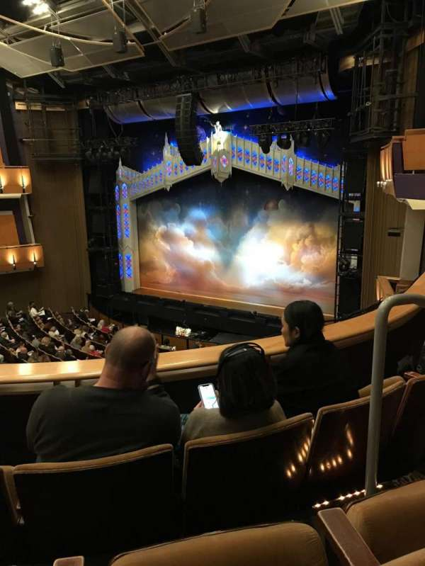Ahmanson Theatre, section: Mezzanine, row: C, seat: 3