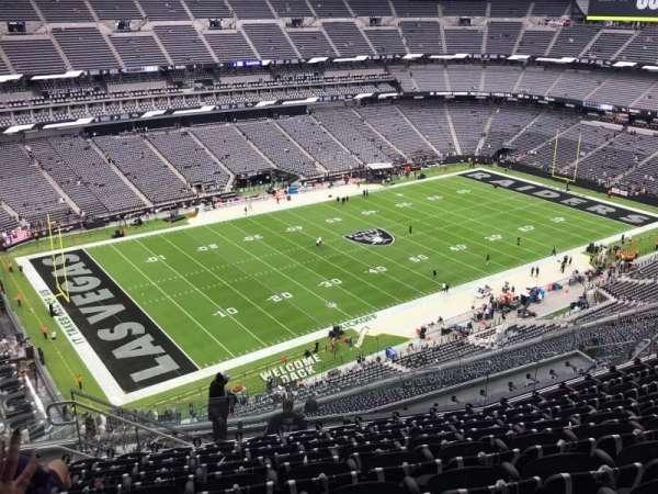 Allegiant Stadium, section: 443, row: 10, seat: 24,25,26,27