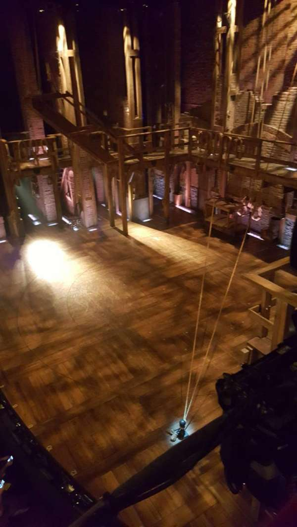 Richard Rodgers Theatre, section: Box G, row: 1, seat: 1