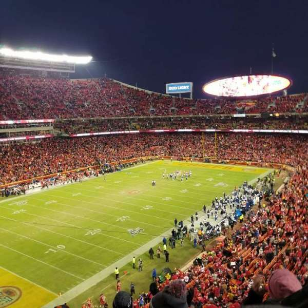 Arrowhead Stadium, section: 307, row: 5, seat: 15