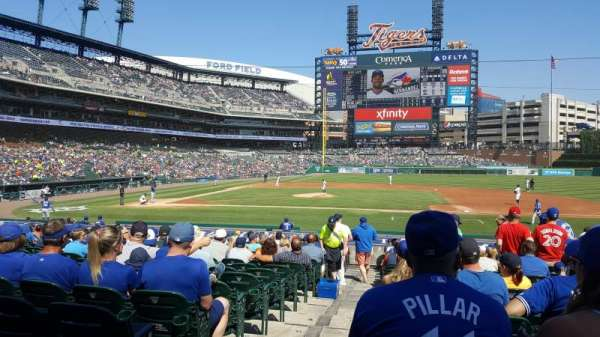 Comerica Park, section: 221, row: 26, seat: 16