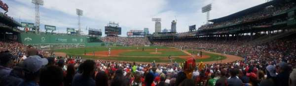 fenway park, section: loge box 142, row: hh, seat: 2
