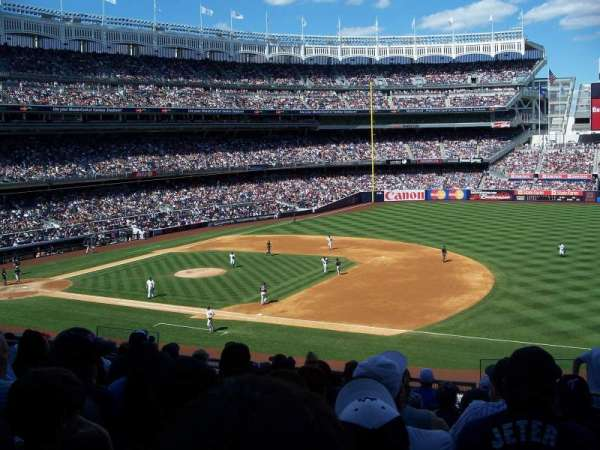 Yankee Stadium, section: 214A, row: 10, seat: 3