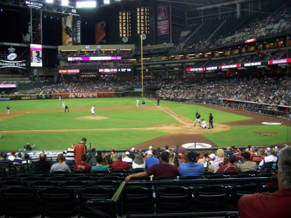 Chase Field, section: 126, row: 24, seat: 21