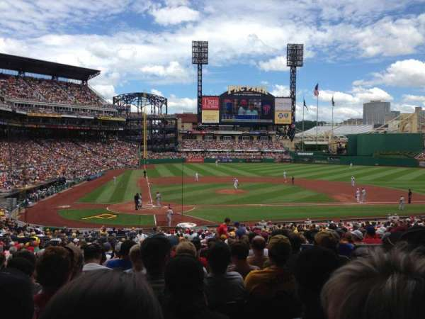 PNC Park, section: 114, row: Z, seat: 3