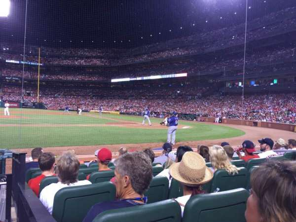 Busch Stadium, section: 155D, row: G, seat: 1