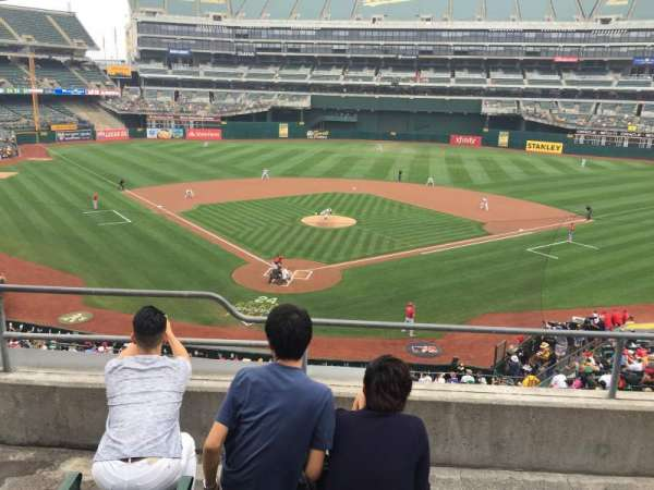 Oakland Alameda Coliseum, section: 216, row: 4, seat: 14