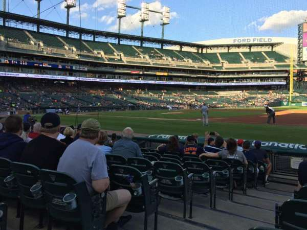 Comerica Park, section: 118, row: 10, seat: 14