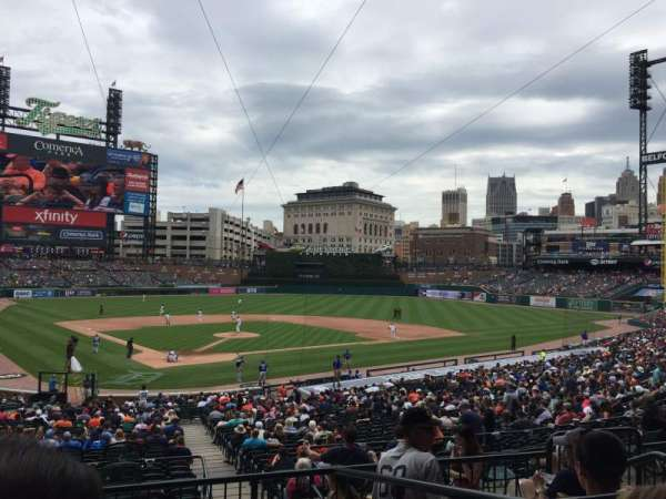 Comerica Park, section: 126A, row: D, seat: 2