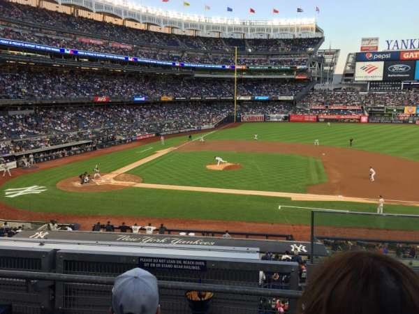 Yankee Stadium, section: 216, row: 3, seat: 1