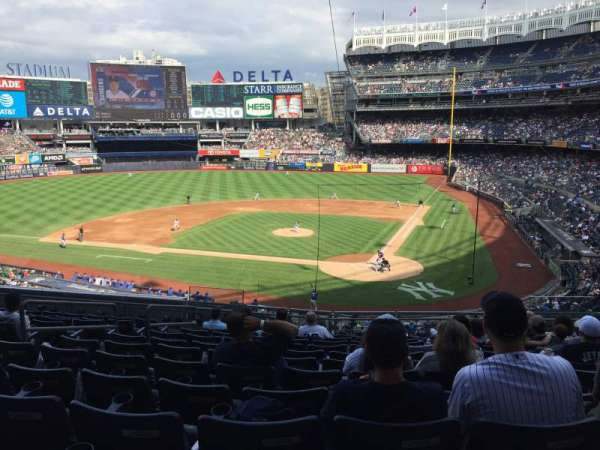 Yankee Stadium, section: 221B, row: 12, seat: 7