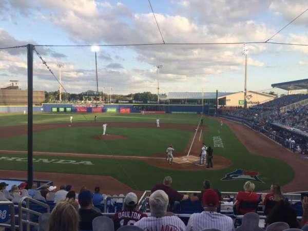 TD Ballpark, section: 208, row: 6, seat: 18