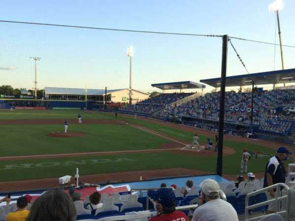 TD Ballpark, section: 210, row: 4, seat: 4