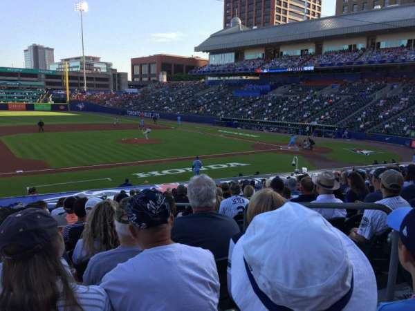 Sahlen Field, section: 113, row: S, seat: 12