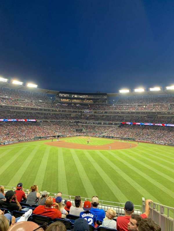 Nationals Park, section: 243, row: 10, seat: 14