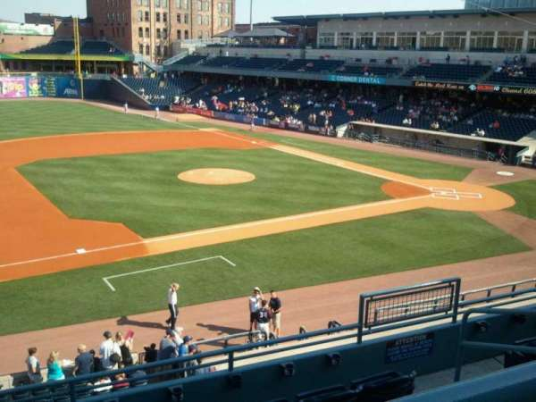Fifth Third Field, section: 203, row: E, seat: 3