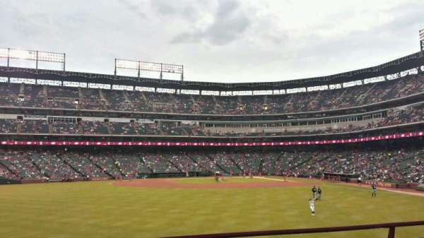 Globe Life Park in Arlington, section: 3, row: 9, seat: 9