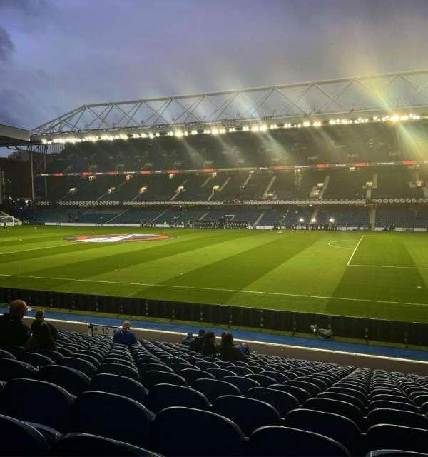 Ibrox Stadium, section: GF3, row: T, seat: 87