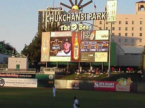 Chukchansi Park, section: 126, row: 11, seat: 11