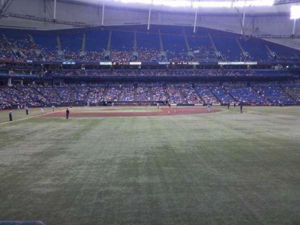 Tropicana Field, section: 144, row: U, seat: 2