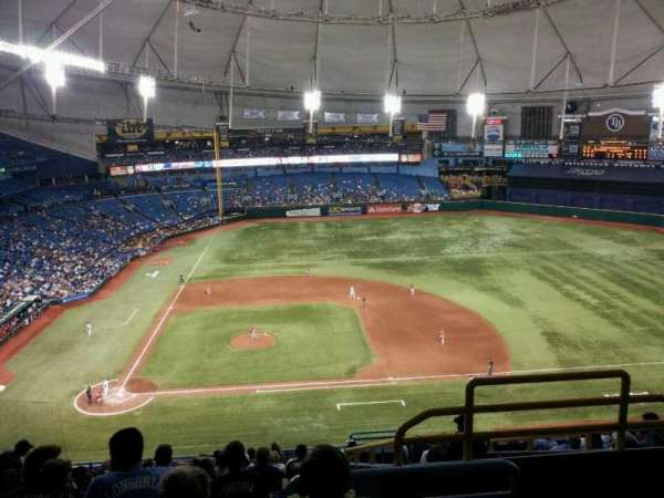 Tropicana Field, section: 310