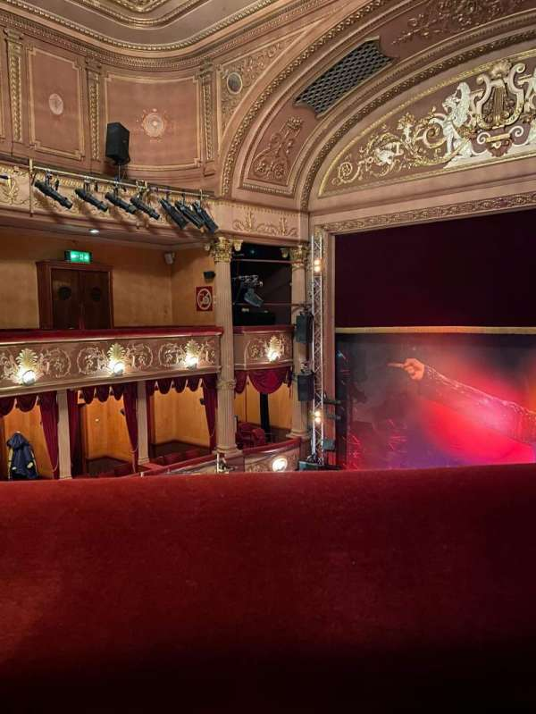 Lyric Theatre (West End), section: Upper Circle, row: A, seat: 17