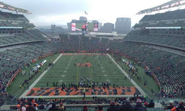 Paul Brown Stadium, section: 226, row: 29, seat: 14