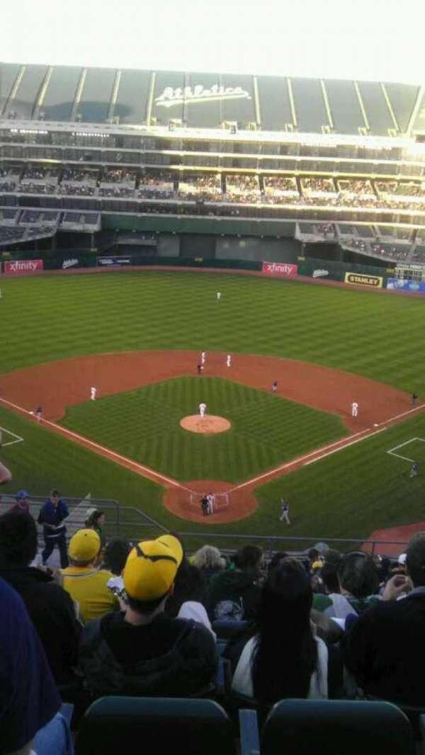 Oakland Coliseum, section: 317, row: 6, seat: 7
