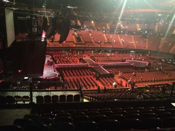 The Forum, section: 225, row: 8, seat: 3