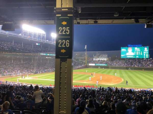 Wrigley Field, section: 226, row: 11, seat: 3