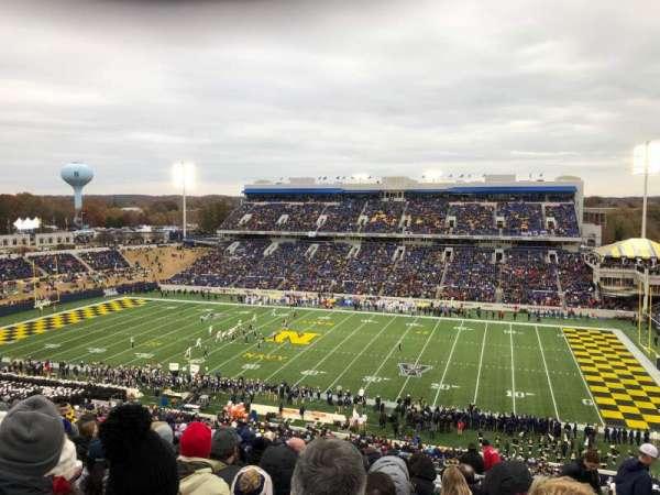 Navy-Marine Corps Memorial Stadium, section: 102, row: 27, seat: 16