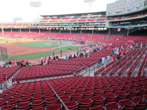 Fenway Park, section: 158, row: PP, seat: 5