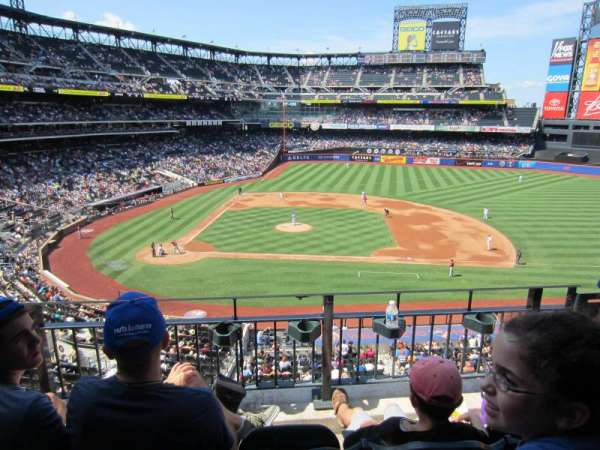 Citi Field, section: 312, row: 3, seat: 6