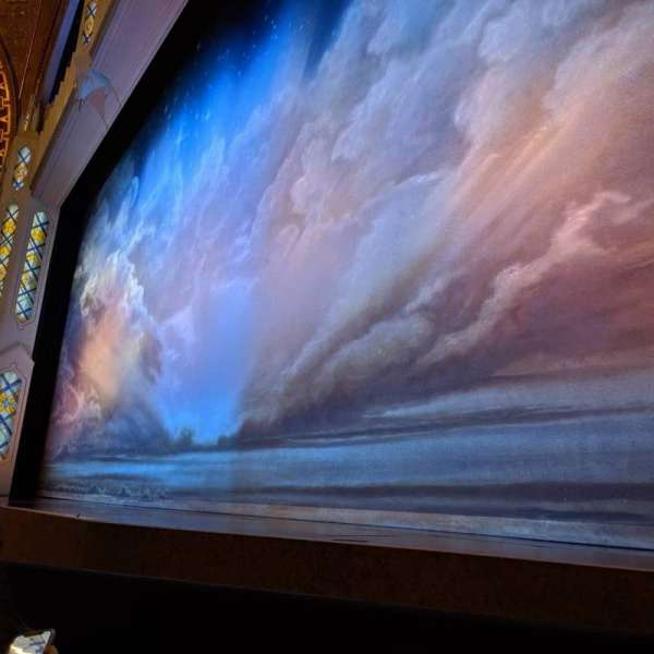 Eugene O'Neill Theatre, section: Orchestra R, row: B, seat: 10