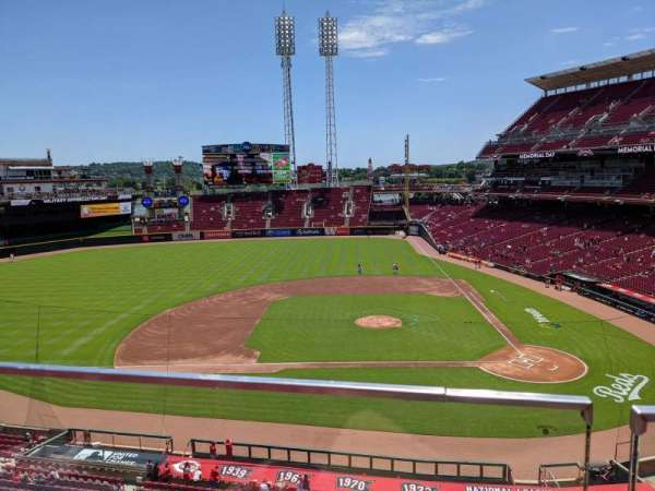 Great American Ball Park, section: 418, row: A, seat: 5
