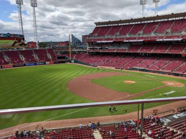 Great American Ball Park, section: 414, row: A, seat: 6