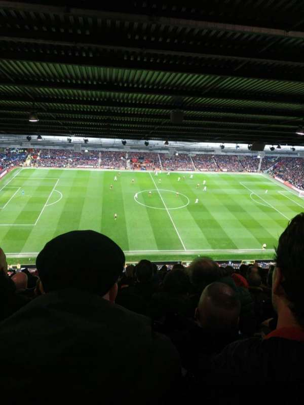Old Trafford, section: N4403, row: 13, seat: 163