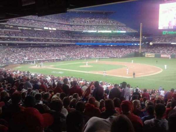 Citizens Bank Park, section: 113, row: Standing