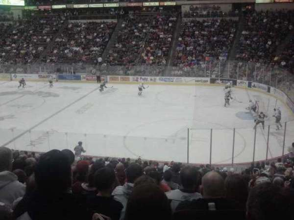 Giant Center, section: 122, row: V, seat: 8