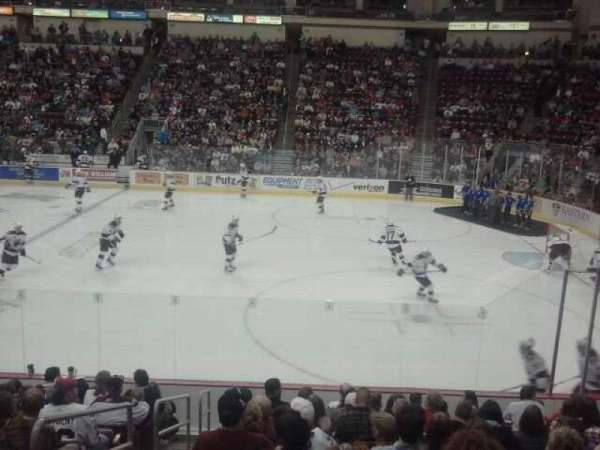 Giant Center, section: 109, row: M, seat: 16