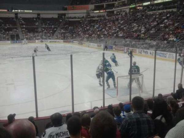 Giant Center, section: 126, row: H, seat: 14