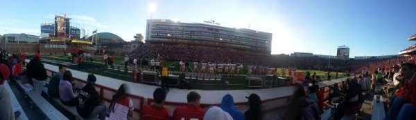 Maryland Stadium, section: 4, row: D, seat: 18