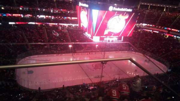 Prudential Center, section: 210, row: 2, seat: 19