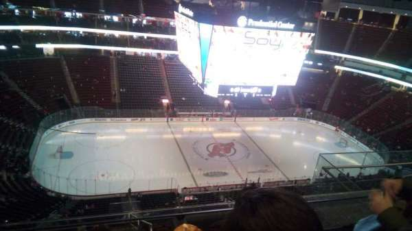 Prudential Center, section: 210, row: 5, seat: 8