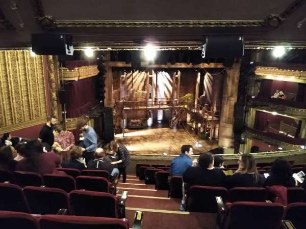 CIBC Theatre, section: Mezzanine L, row: K, seat: 1