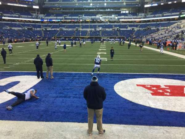 Lucas Oil Stadium, section: 153, row: 9, seat: 1